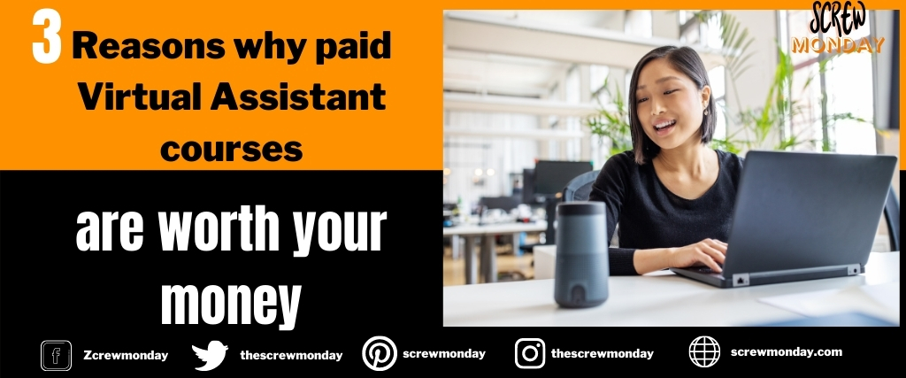 3 Reasons Why paid Virtual assistant courses are worth your money